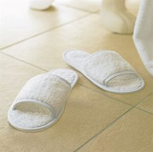 Towel City TC064 - Classic terry slippers (open toe)