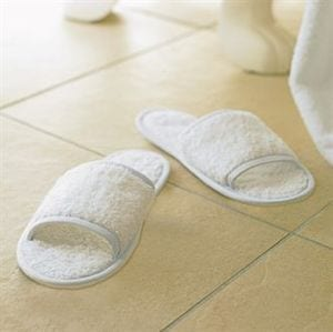 Towel city TC064 - Classic badstof pantoffels (open teen)