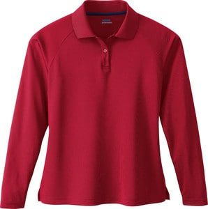 Ash City Extreme 75061 - Ladies Long Sleeve Eperformance™ Pique Polo