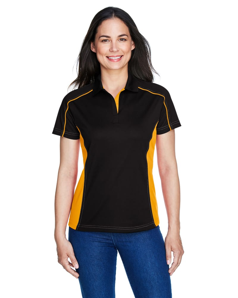 Ash City Extreme 75113 - Fuse Polos Ladies' Snag Protection Plus Color-Block Polos