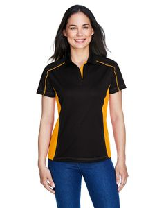 Ash City Extreme 75113 - Fuse Polos Ladies Snag Protection Plus Color-Block Polos