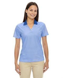 Ash City Extreme 75115 - Launch Ladies Snag Protection Striped Polo