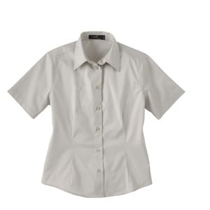 Ash City Vintage 77010 - Ladies Short Sleeve Twill Shirt