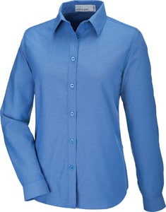 Ash City North End 77038 - Windsor Ladies Long Sleeve Oxford Shirt