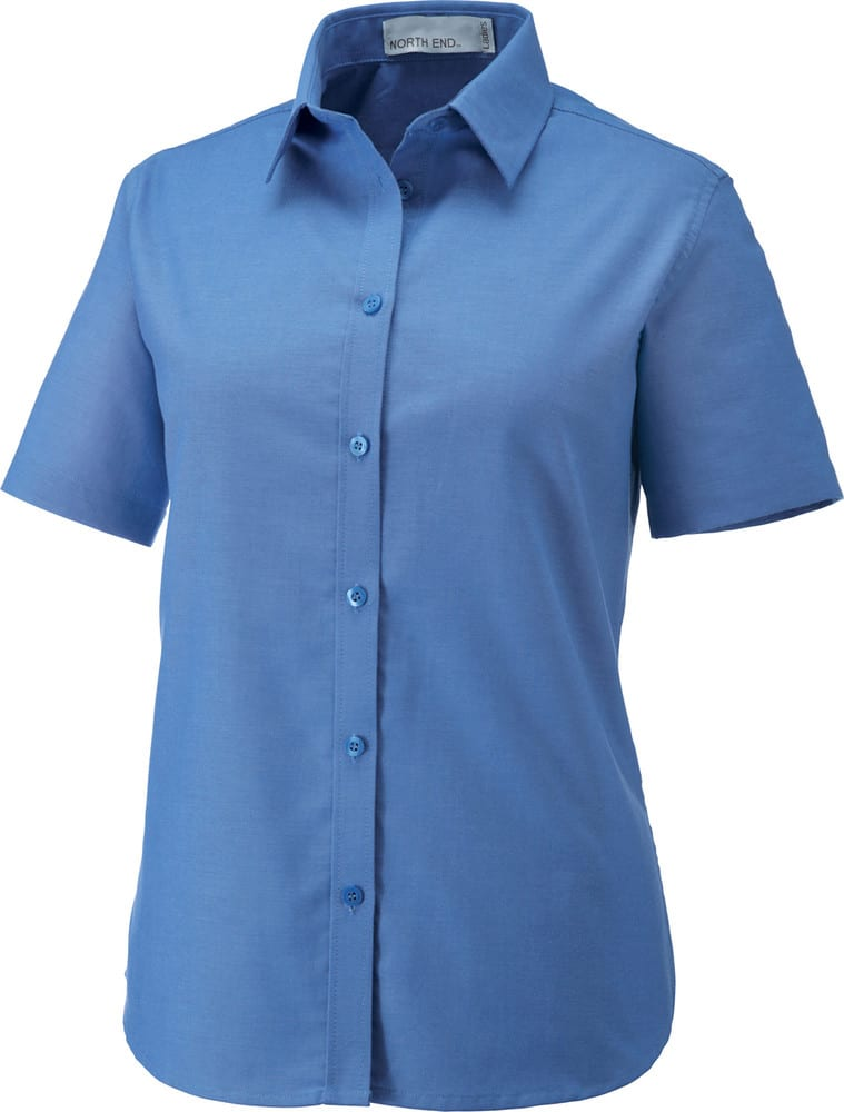Ash City North End 77039 - Maldon Ladies' Short Sleeve Oxford Shirt