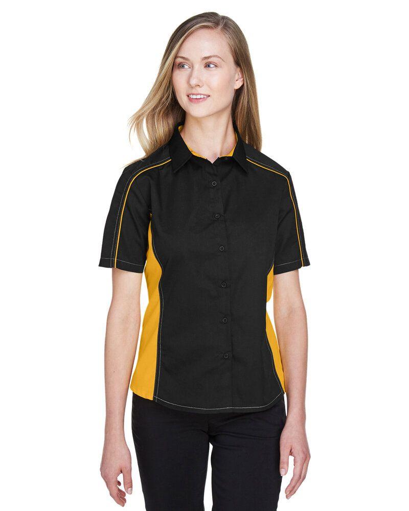 North End 77042 - Chemises en sergé coloré Fuse pour femmes