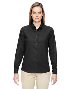 Ash City North End 77043 - Paramount Ladies Wrinkle Resistant Cotton Blend Twill Checkered Shirt