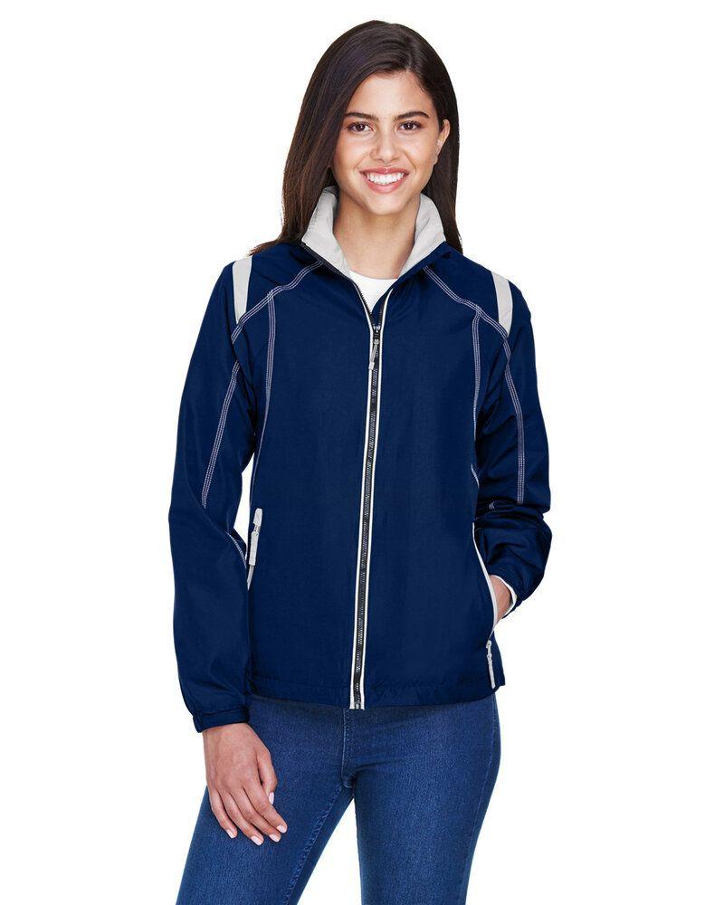 Ash City North End 78076 - Manteau Léger Pour Femme Avec Blocs De Couleur