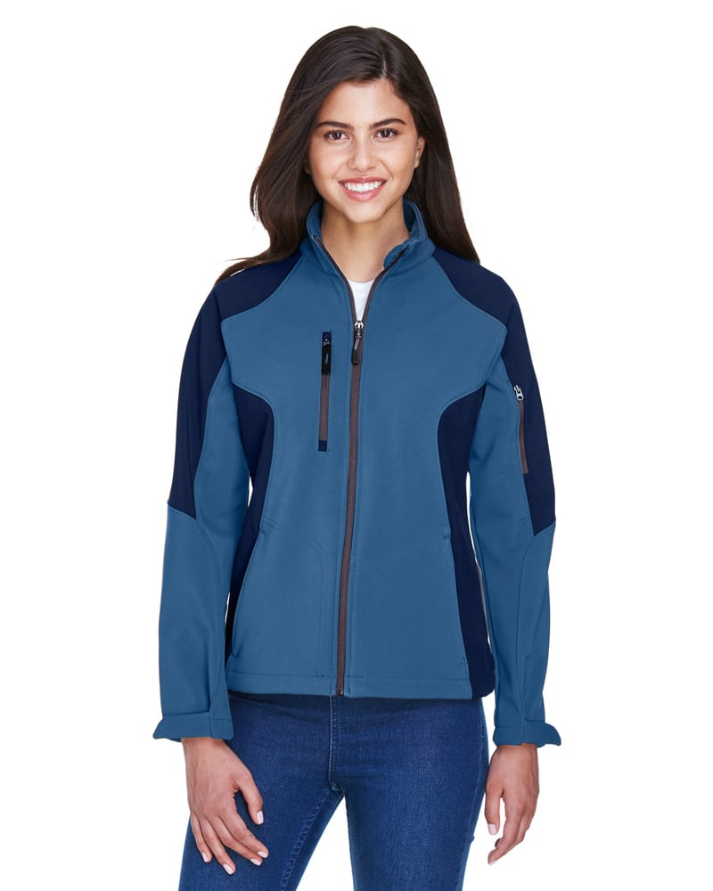Ash City North End 78077 - Compass Ladies' Color-Block Soft Shell Jacket