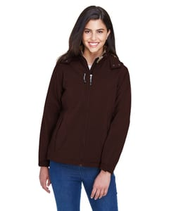 Ash City North End 78080 - GlacierLadies Insulated Soft Shell Jacket With Detachable Hood