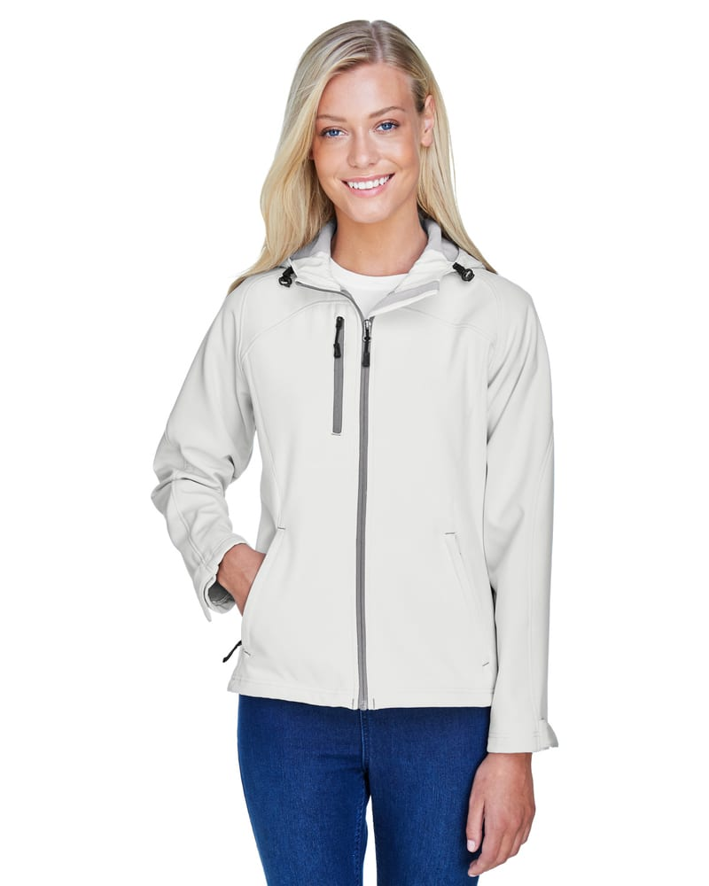 Ash City North End 78166 - Prospect Ladies' Soft Shell Jacket With Hood