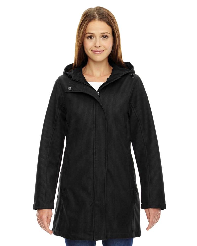 Ash City North End 78171 - City Manteau Pour Femme À Extérieur Doux Texturé