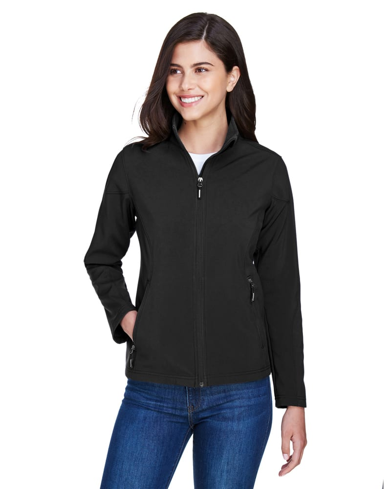 Ash City Core 365 78184 - Cruise Tm Ladies' 2-Layer Fleece Bonded Soft Shell Jacket