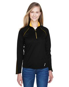 North End 78187 - Veste Top à manches longues Radar Half-Zip Performance pour femmes