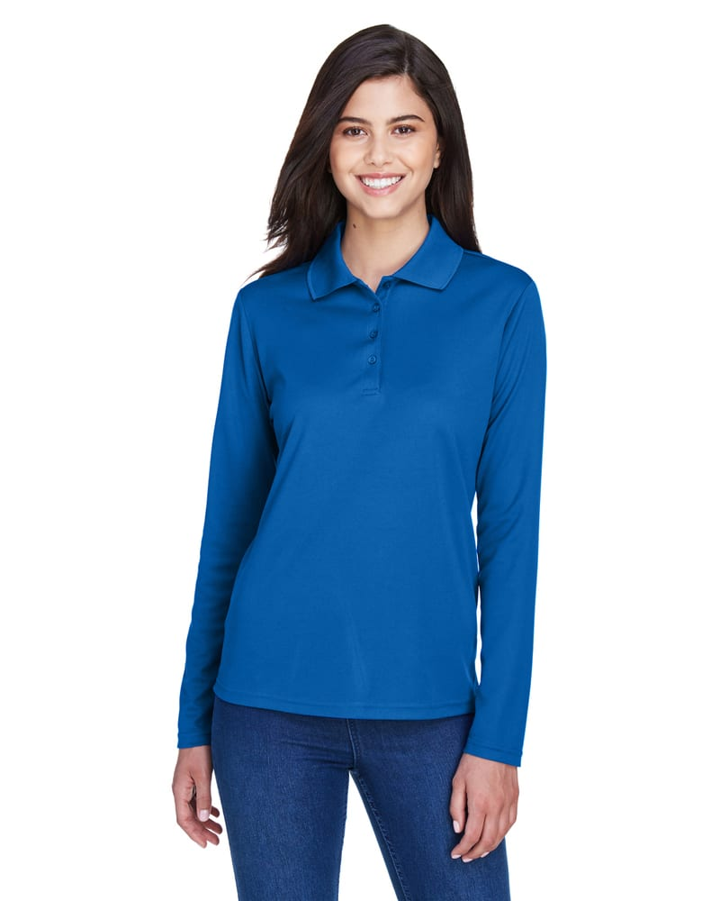 Ash City Core 365 78192 - Pinnacle Core 365™ Ladies' Performance Long Sleeve Pique Polos
