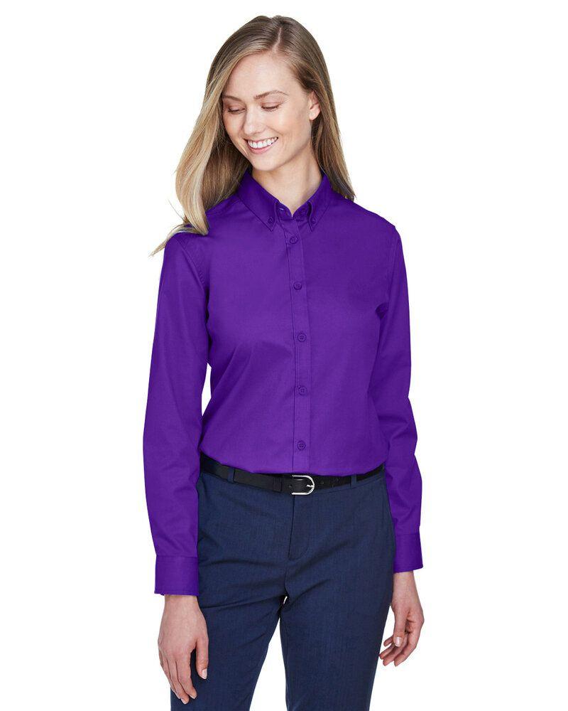 Ash City Core 365 78193 - Operate Core 365™ Ladies' Long Sleeve Twill Shirts
