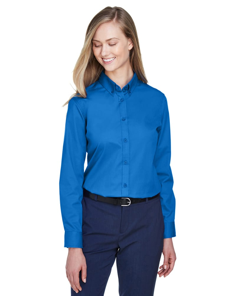 Ash City Core 365 78193 - Operate Core 365™ Ladies' Long Sleeve Twill Shirts