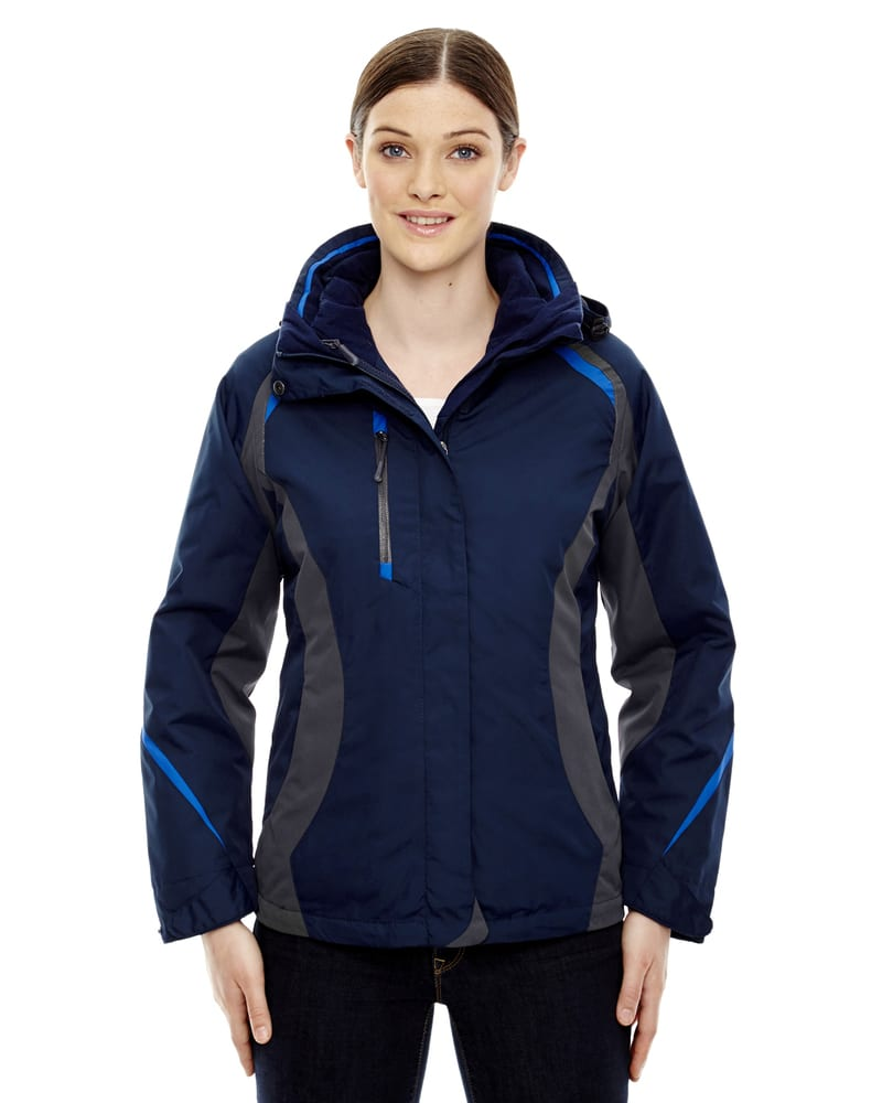 Ash City North End 78195 - Height Ladies'3-In-1 Jackets With Insulated Liner