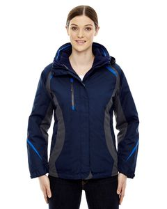 Ash City North End 78195 - Height Ladies3-In-1 Jackets With Insulated Liner