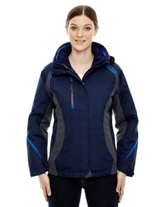 Ash City North End 78195 - Height Ladies 3-In-1 Jackets With Insulated Liner