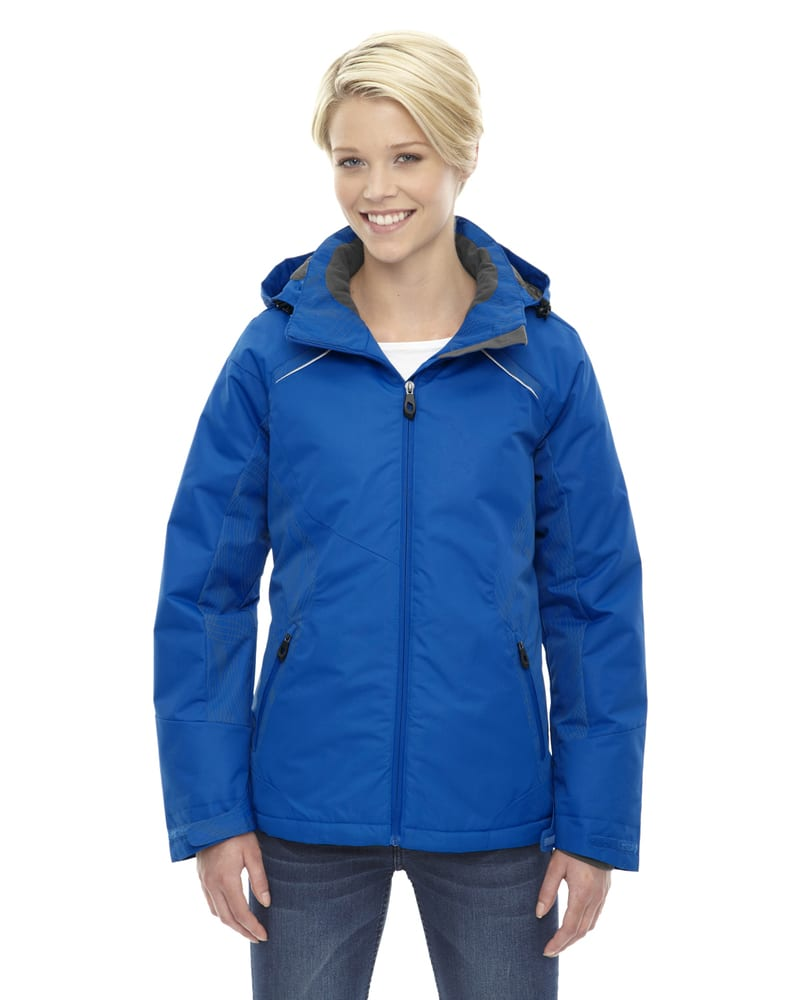 Ash City North End 78197 - Linear Ladies'Insulated Jackets With Print