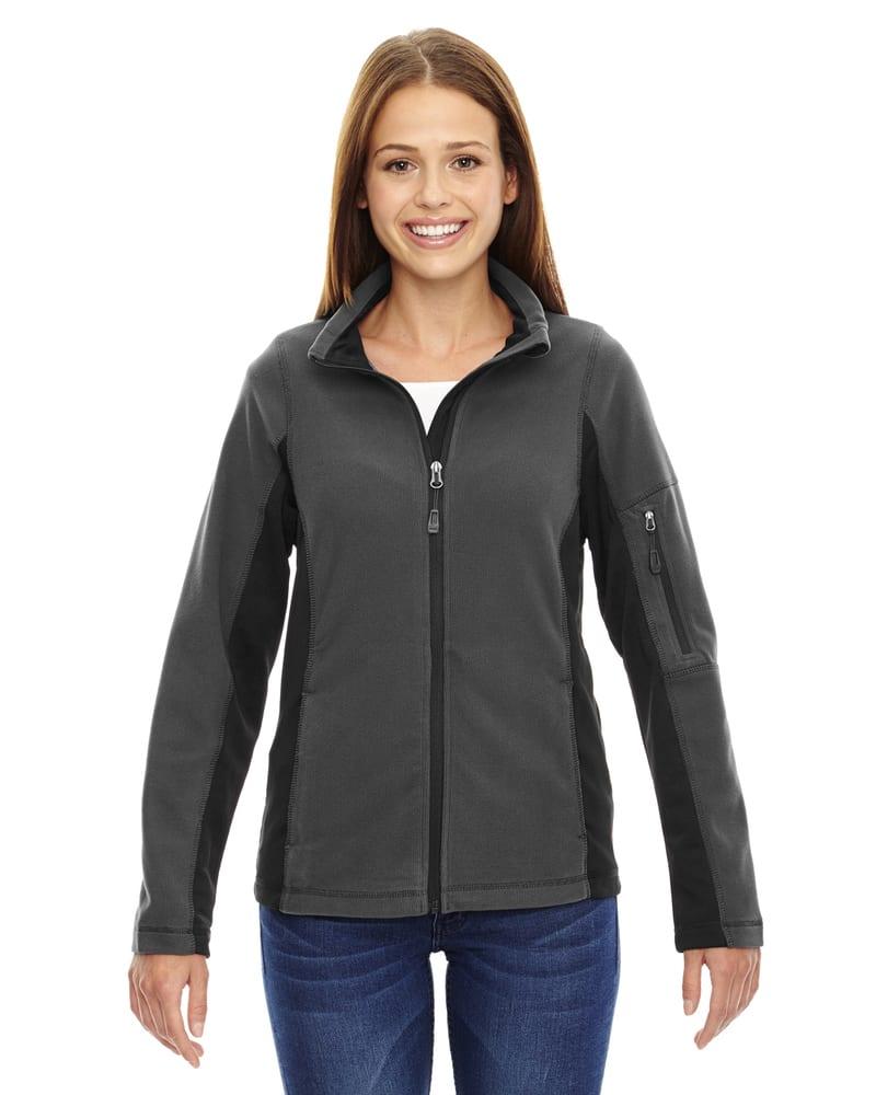 North End 78198 - Generate Ladies' Textured Fleece Jacket