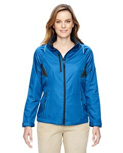 Ash City North End 78200 - Sustain Ladies Lightweight Recycled Polyester Dobby Jacket With Print