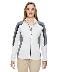 Ash City North End 78201 - Strike Ladies Colour-Block Fleece Jacket