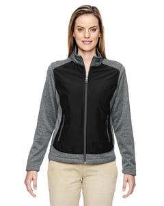 Ash City North End 78202 - Victory Ladies Hybrid Performance Fleece Jacket