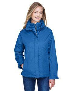 Ash City Core 365 78205 - Region Manteaux 3 En 1 Avec Manteau-Doublure En Molleton Pour Femme