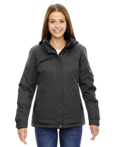 Ash City North End 78209 - Rivet Ladies Textured Twill Insulated Jackets