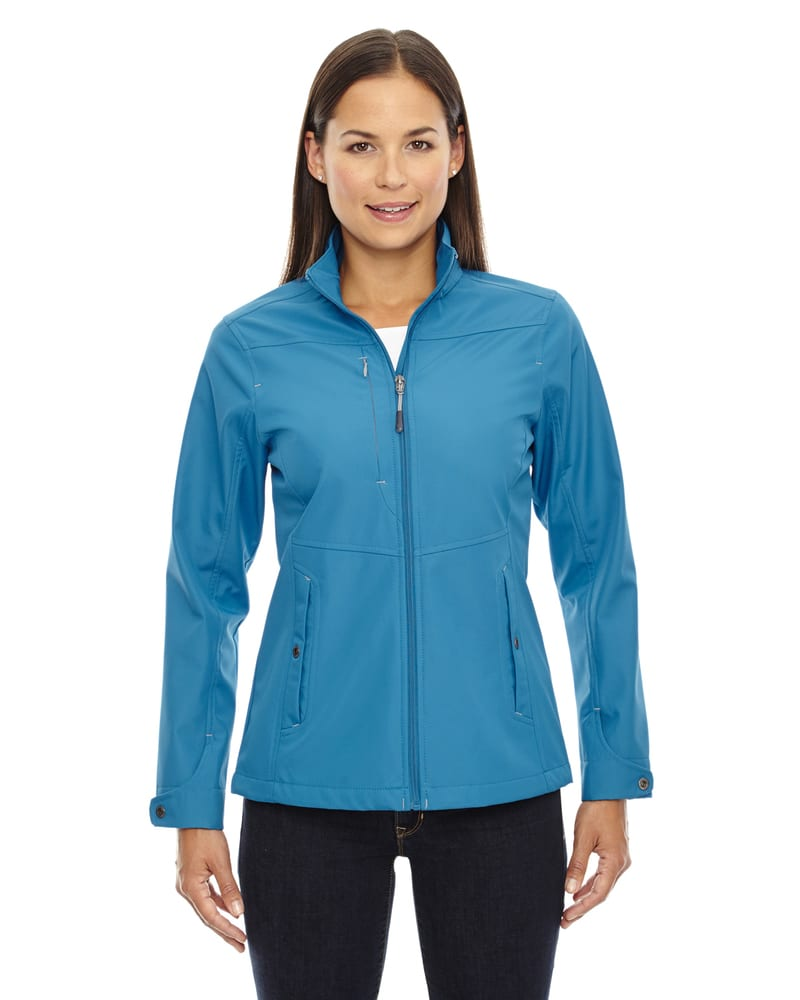Ash City North End 78212 - Forecast Ladies' 3-Layer Light Bonded Travel Soft Shell Jackets