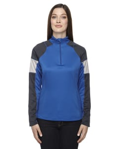 Ash City North End 78214 - Quick Ladies Performance Interlock Half-Zip Tops