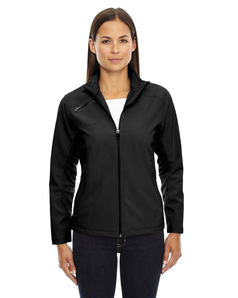Ash City North End 78621 - Ladies' 3-Layer Soft Shell Jacket