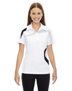 Ash City North End 78645 - Impact Ladies Performance Polyester Pique Color-Block Polo