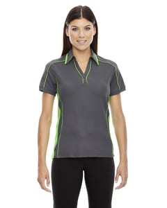 Ash City North End 78648 - Sonic Polo Performance Pour Femme En Piqué De Polyester