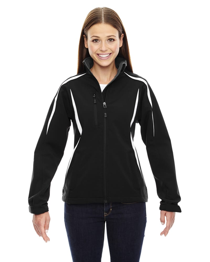 Ash City North End 78650 - EnzoLadies' Color-Block Soft Shell Jacket