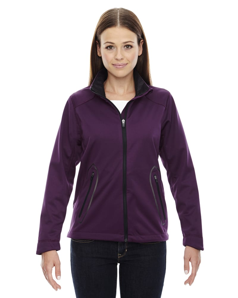Ash City North End 78655 - Splice Ladies' Soft Shell Jacket With Laser Welding