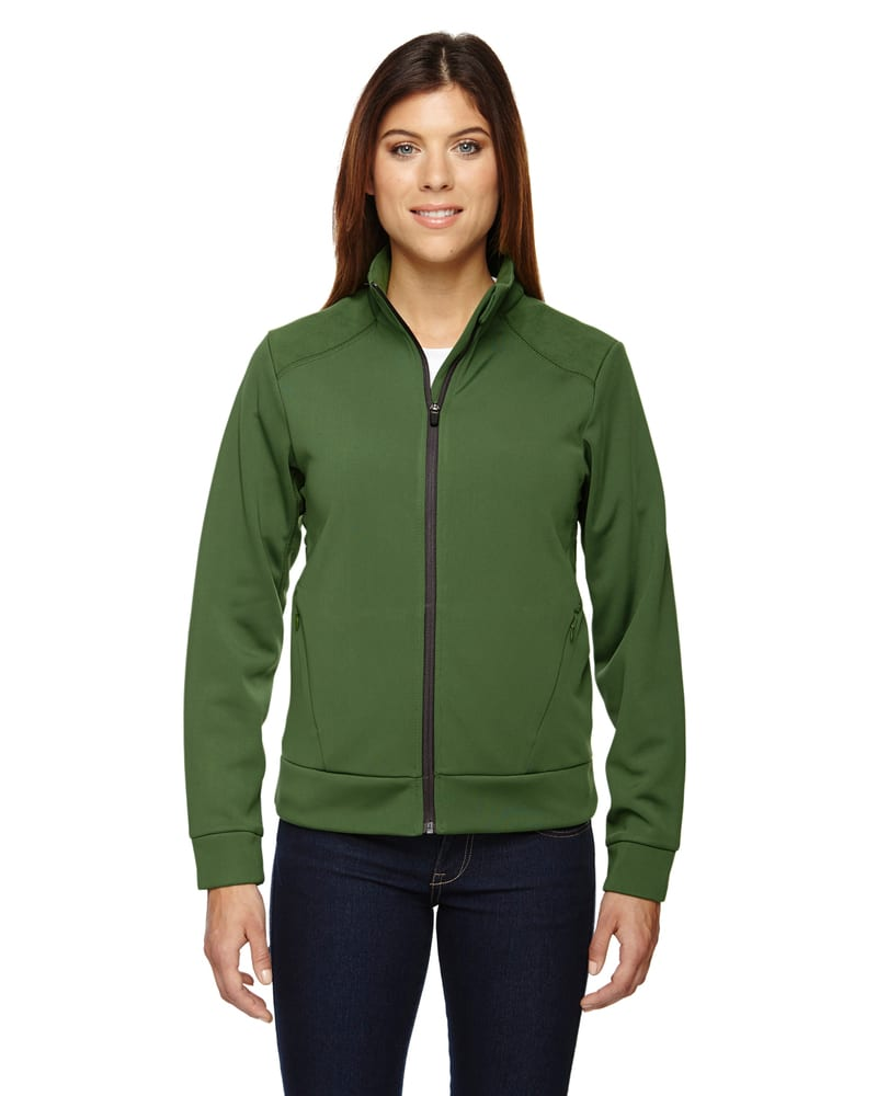 Ash City North End 78660 - Evoke Ladies' Bonded Fleece Jacket