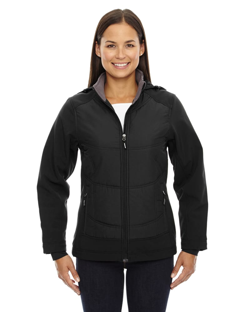 Ash City North End 78661 - Neo Ladies' Insulated Hybrid Soft Shell Jackets