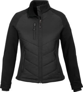 Ash City North End 78662 - Epic Ladies Insulated Hybrid Bonded Fleece Jacket