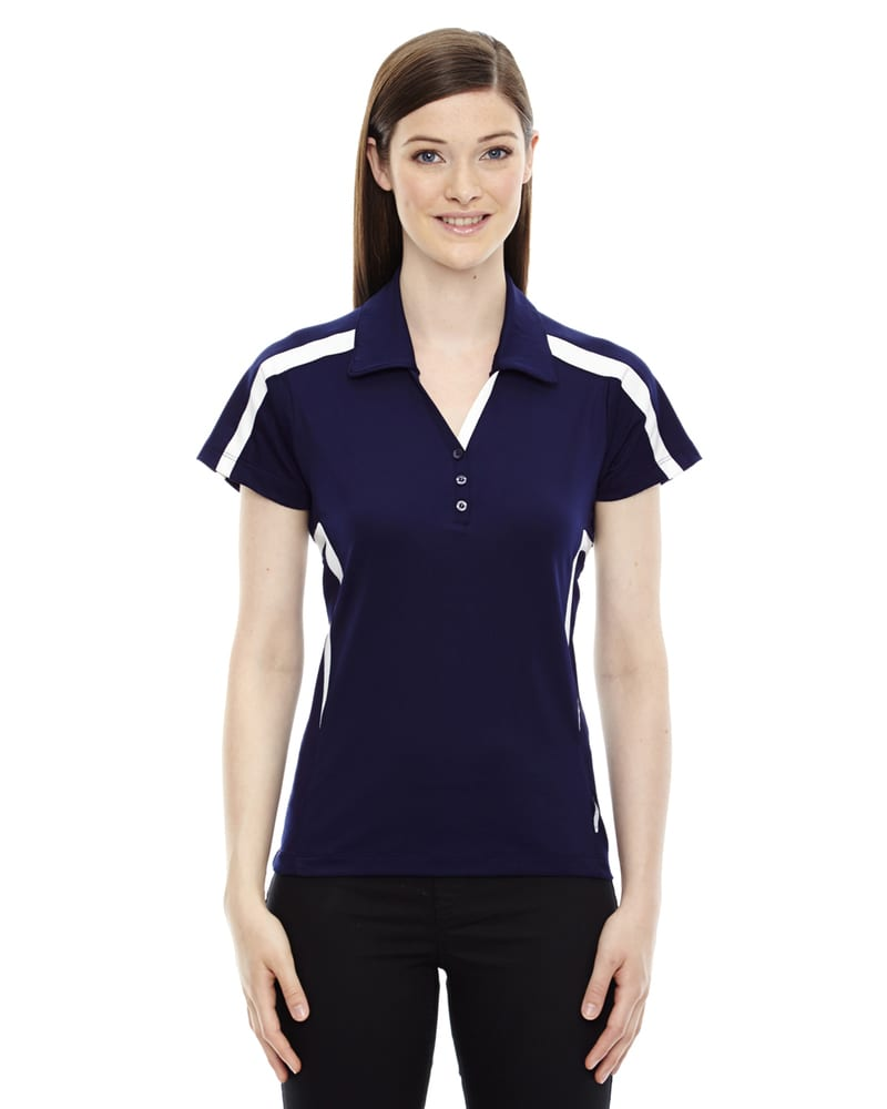 Ash City North End 78667 - ACCELERATE POLO POUR FEMME EN PERFORMANCE UTK frais.logikMC