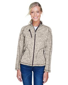 Ash City North End 78669 - Peak Manteau Pour Femme En Tricot Chandail