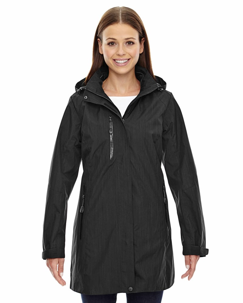 Ash City North End 78670 - Metropolitan Ladies' Lightweight City Length Jacket
