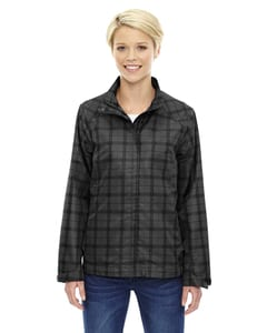 Ash City North End 78671 - Locale Ladies Lightweight City Plaid Jacket