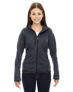 Ash City North End 78681 - Pulse Ladies Textured Bonded Fleece Jackets With Print