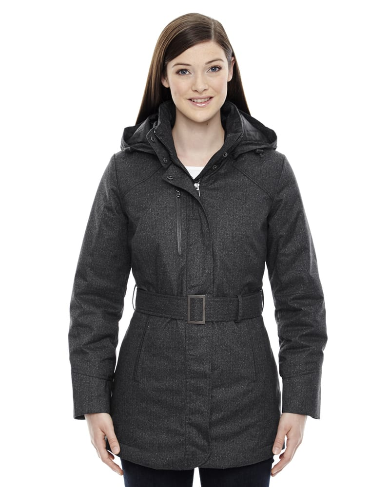 Ash City North End 78684 - Enroute Ladies' Textured Insulated Jackets With Heat Reflect Technology