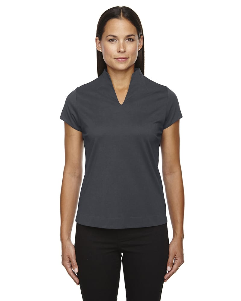 Ash City North End 78687 - WEEKEND LADIES' COTTON BLEND UTK cool.logikTM PERFORMANCE POLO