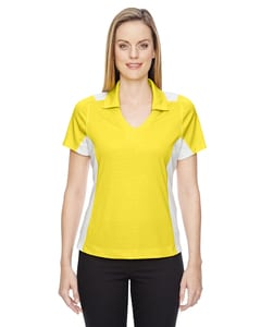 North End Sport Red 78691 - Polos Reflex pour femmes Utk Cool.Logik Performance avec impression en relief