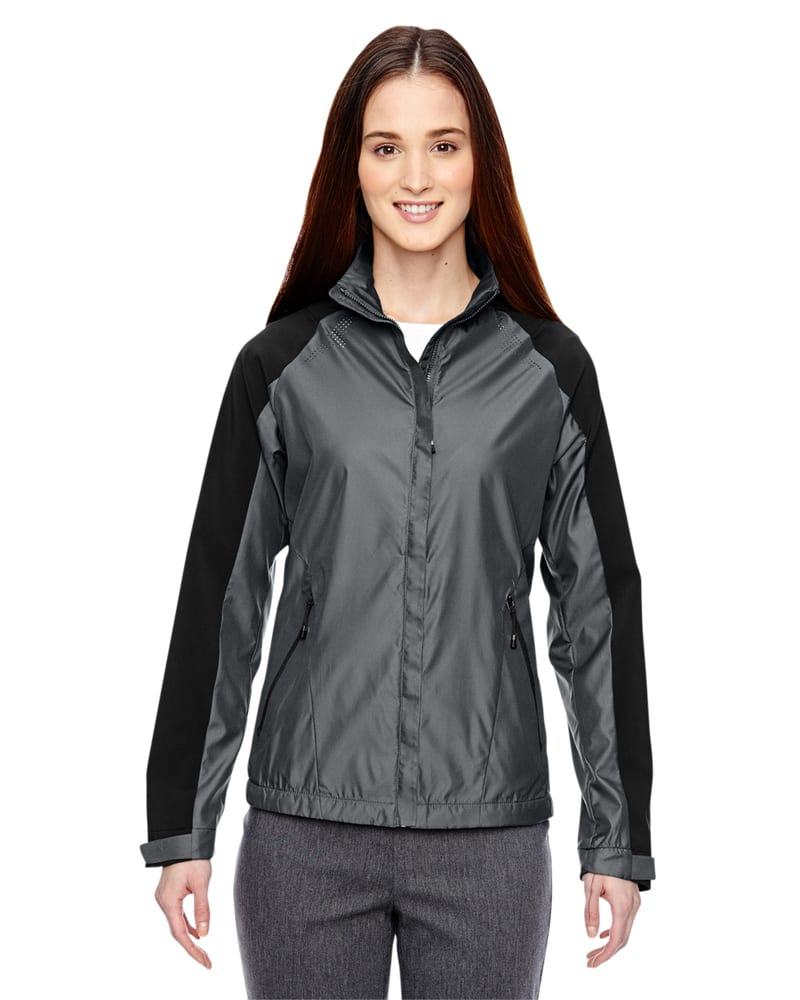 Ash City North End 78695 - Borough Ladies' Lightweight Jacket With Laser Perforation